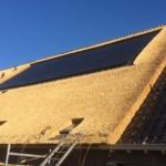 Bosch Rietdekkers Indekken zonnepanelen Smilde