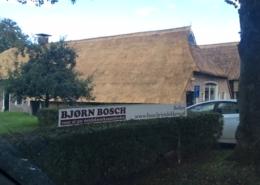 Rietdekken bibliotheek Westerbork